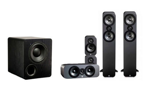 Q-Acoustics 3050 Cinema Pack + PB-1000 - 23518