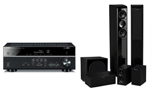 Yamaha RX-V481 + Obsidian 600+ WH-S10 - 23785