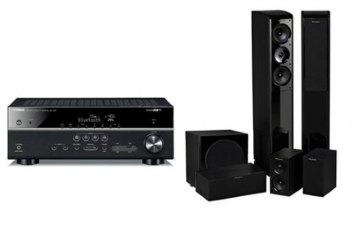 Yamaha RX-V481 + Obsidian 600+ WH-S8 - 23786