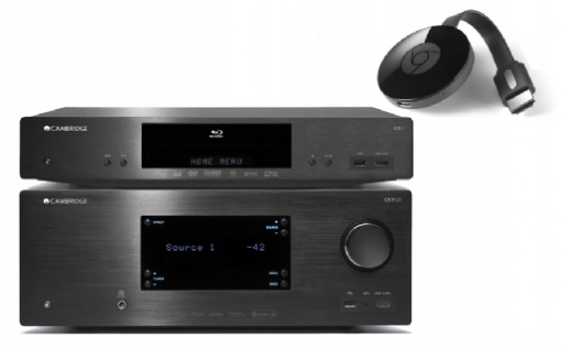 Cambridge Audio CXU + CXR 120 + Google Chromecast 2 - 24368