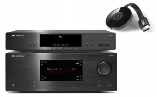 Cambridge Audio CXU + CXR 200 + Google Chromecast 2 - 24369