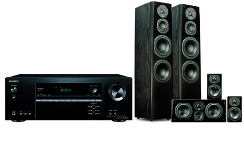 Onkyo TX-NR474 + Prime Tower Surround Package - 24624