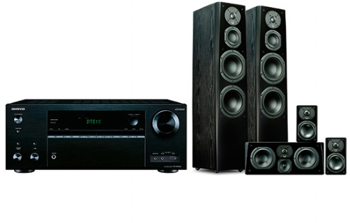 Onkyo TX-NR676 + Prime Tower Surround Package - 24633