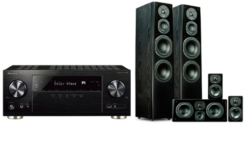 Pioneer VSX832+ Prime Tower Surround Package - 24639