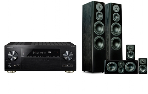Pioneer VSX-LX302 + Prime Tower Surround Package - 24648