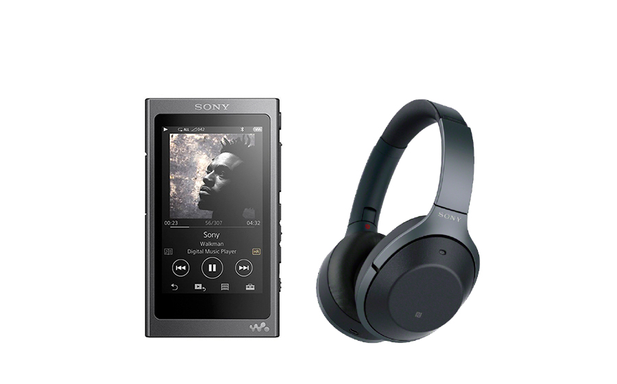 Sony WH 1000XM2 + NW-A35 - 24704