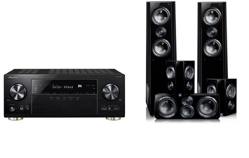 Pioneer VSX-LX302 + Ultra Tower Surround Package - 24811