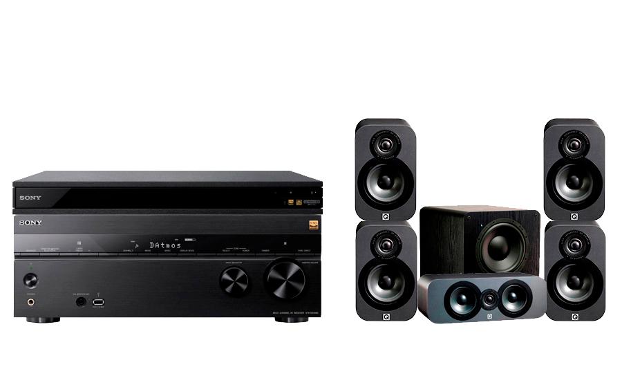Sony STR-DN1080 + UBP-X800 + 3000 CP + PB-1000 - 24887