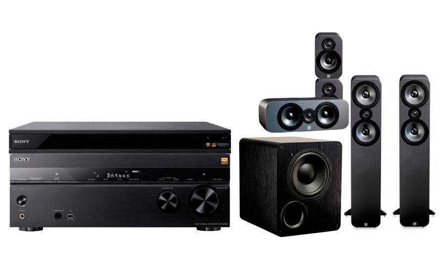 Sony STR-DN1080 + UBP-X800 + 3050 CP + PB-1000 - 24889