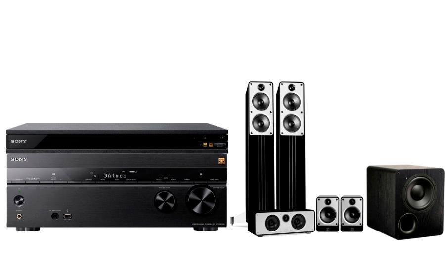 Sony STR-DN1080 + UBP-X800 + Concept Cinema + PB-1000 - 24890