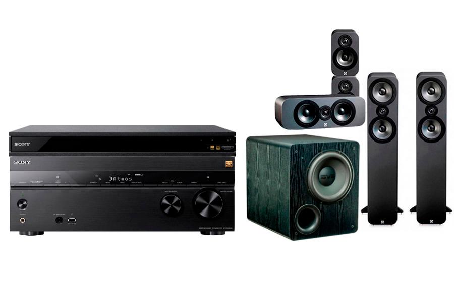 Sony STR-DN1080 + UBP-X800 + 3050 CP + PB-2000 - 24893