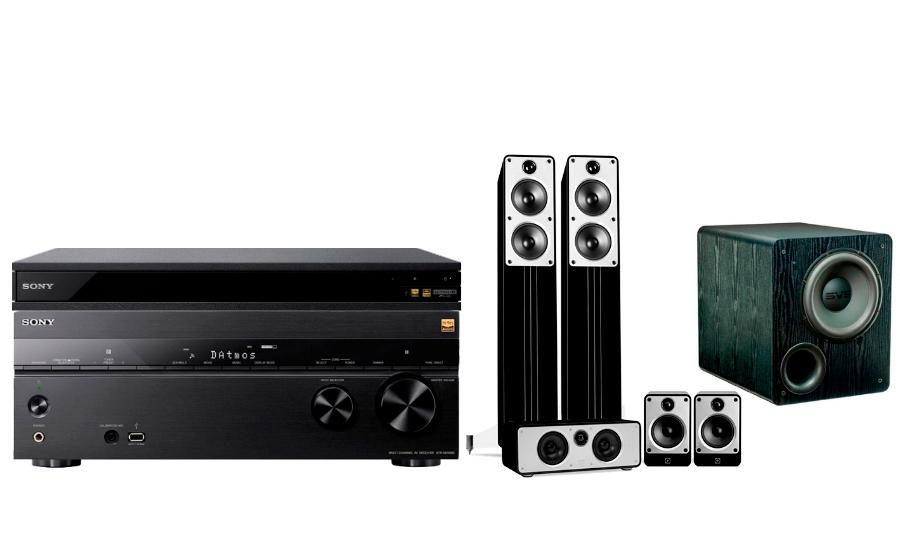 Sony STR-DN1080 + UBP-X800 + Concept Cinema + PB-2000 - 24894