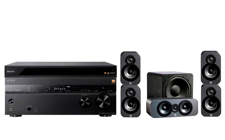 Sony STR-DN1080 + UBP-X800 + 3000 CP + SB-1000 - 24895