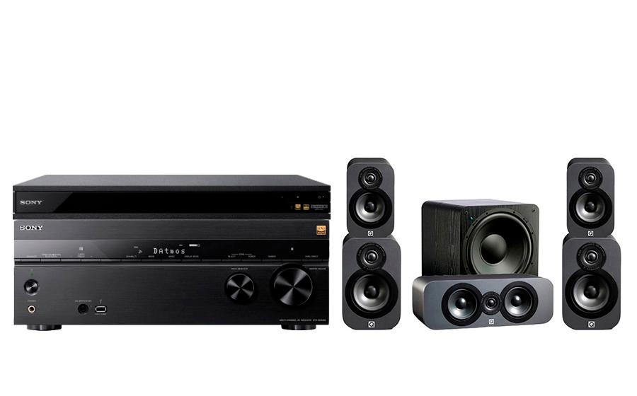 Sony STR-DN1080 + UBP-X800 + 3020 CP + SB-1000 - 24896