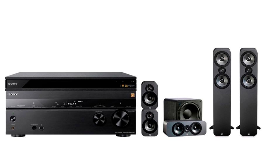 Sony STR-DN1080 + UBP-X800 + 3050 CP + SB-1000 - 24897