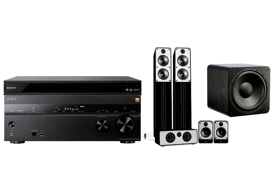 Sony STR-DN1080 + UBP-X800 + Concept Cinema + SB-1000 - 24898