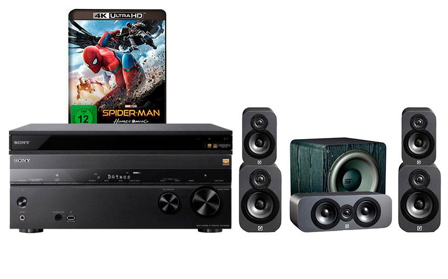 Sony STR-DN1080 + UBP-X800 + 3020 CP + SB-2000 - 24900