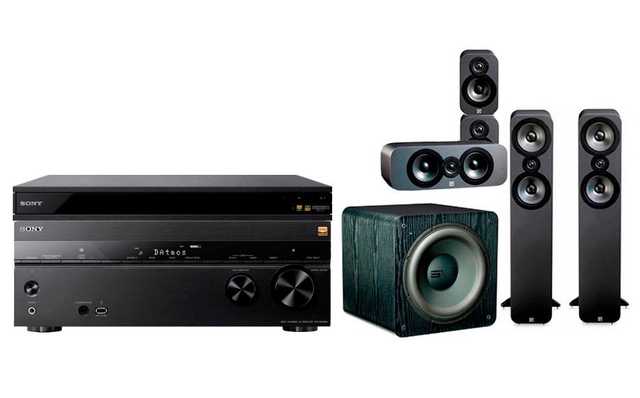 Sony STR-DN1080 + UBP-X800 + 3050 CP + SB-2000 - 24901