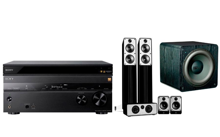 Sony STR-DN1080 + UBP-X800 + Concept Cinema + SB-2000 - 24902