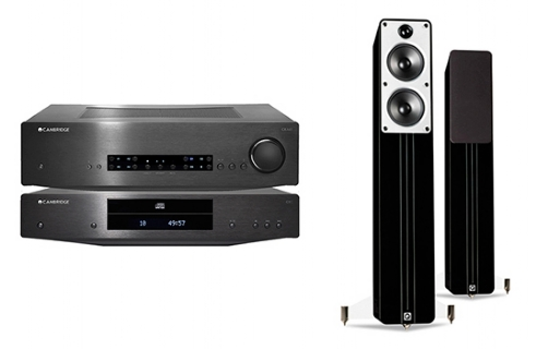 Cambridge Audio CXA60 + CXC + Concept 40 - 24921