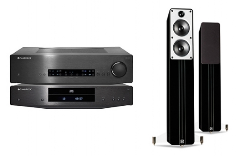 Cambridge Audio CXA80 + CXC + Concept 40 - 24923