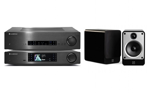 Cambridge Audio CXA60 + CXN + Concept 20 - 24927