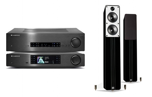 Cambridge Audio CXA60 + CXN + Concept 40 - 24928