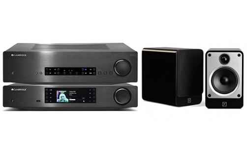 Cambridge Audio CXA80 + CXN + Concept 20 - 24929