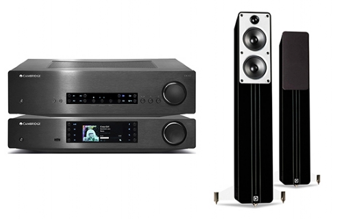 Cambridge Audio CXA80 + CXN + Concept 40 - 24930