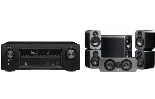 Denon AVR-X1400 + 3000 Cinema Pack - 24949