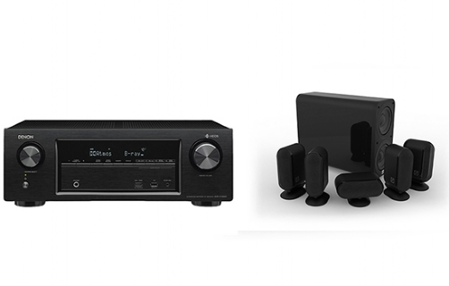 Denon AVR-X1400 + 7000i 5.1 Cinema Pack - 24951