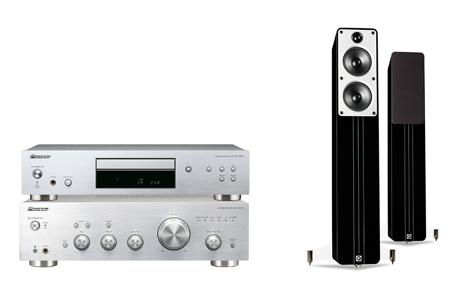 Pioneer A-30 + PD-30AE + Concept 40 - 24981