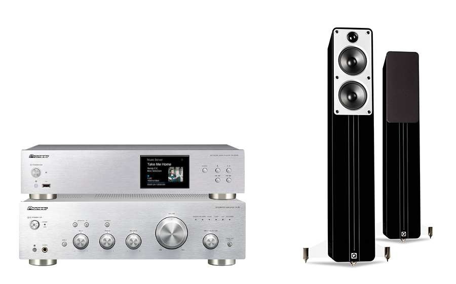 Pioneer A-30 + N-30AE + Concept 40 - 25002