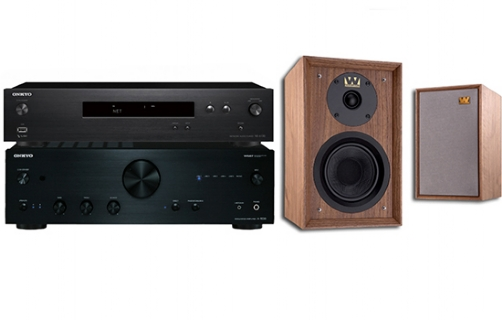 Onkyo A-9030 + NS-6130 + Denton 80th Anniversary - 25034