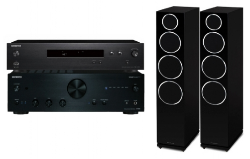 Onkyo A-9030 + NS-6130 + Diamond 240 - 25040