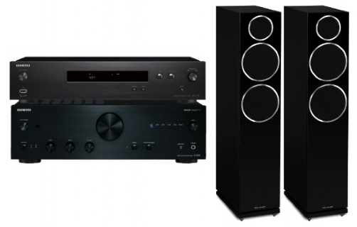 Onkyo A-9030 + NS-6130 + Diamond 230 - 25041