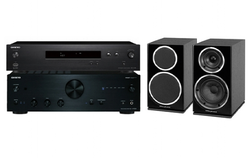 Onkyo A-9030 + NS-6130 + Diamond 225 - 25042
