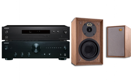 Onkyo A-9010 + NS-6130 + Denton 80th Anniversary - 25052