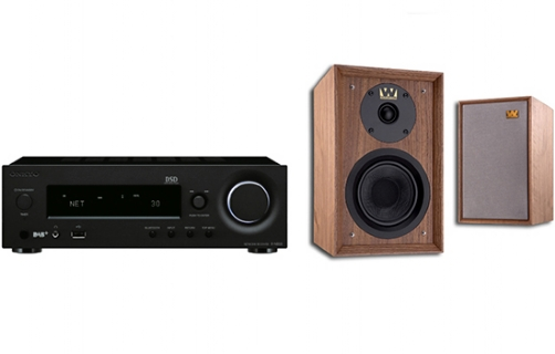 Onkyo R-N855 + Denton 80th Anniversary - 25068