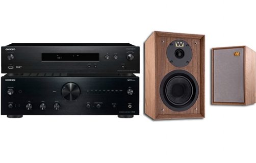 Onkyo A-9150 + NS-6170 + Denton 80th Anniversary - 25081