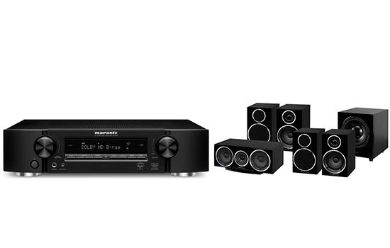 Marantz NR 1608 + Diamond 220 HC 5.1 - 25155