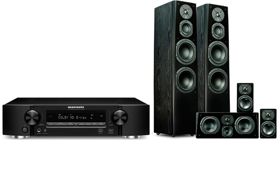 Marantz NR 1608 + Prime Tower Surround Package - 25161