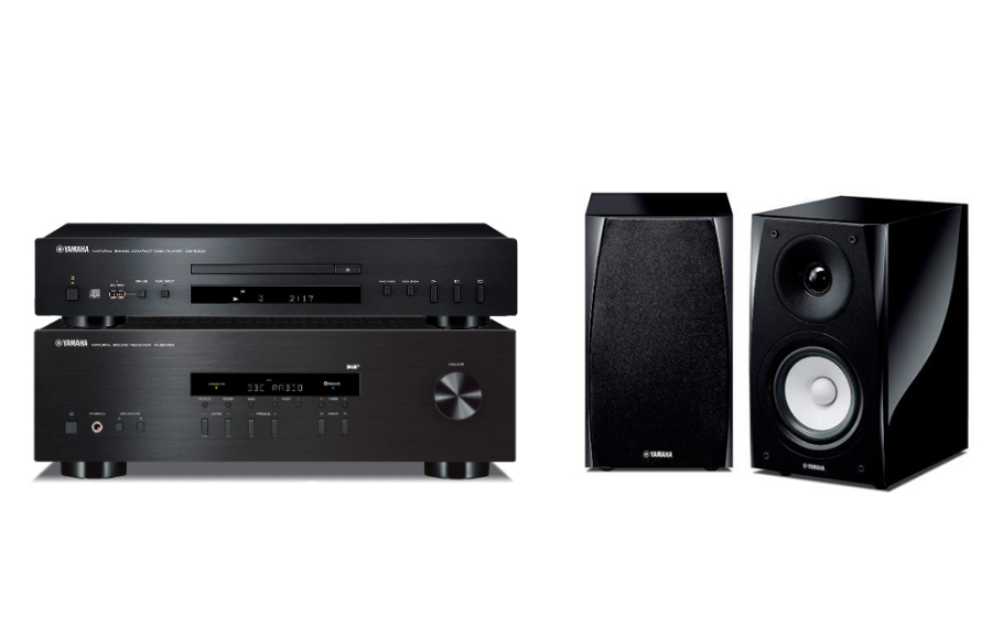 Yamaha R-S202D+NS-BP182+CD-S300 - 25172