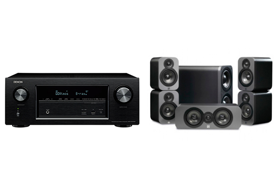 Denon AVR-X2400 + 3000 Cinema Pack - 25388