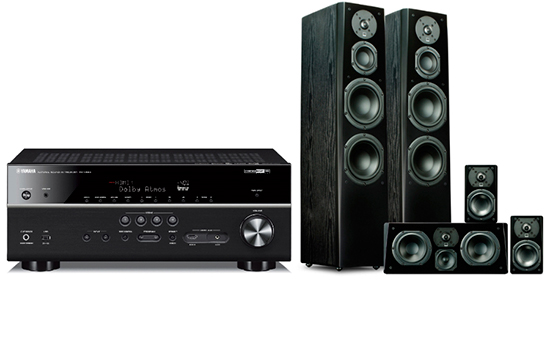 Yamaha RX-V483 + Prime Tower Surround Package - 25455