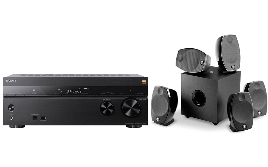 Sony STR-DN1080 + Sib Evo 5.1 - 25562