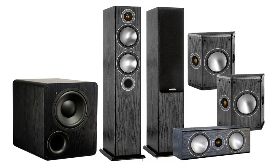 Monitor Audio Bronze 5AV + PB-1000 - 25763