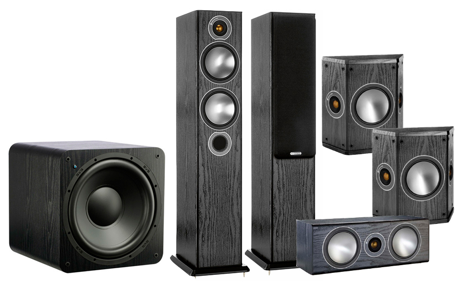 Monitor Audio Bronze 5AV + SB-1000 - 25764