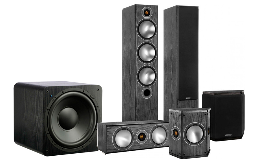 Monitor Audio Bronze 6AV + SB-1000 - 25765