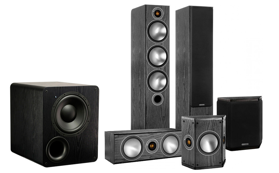 Monitor Audio Bronze 6AV + PB-1000 - 25766